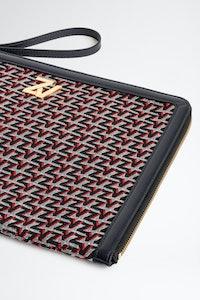 Pochette ZV Initiale La Maxi Pouch Monogram