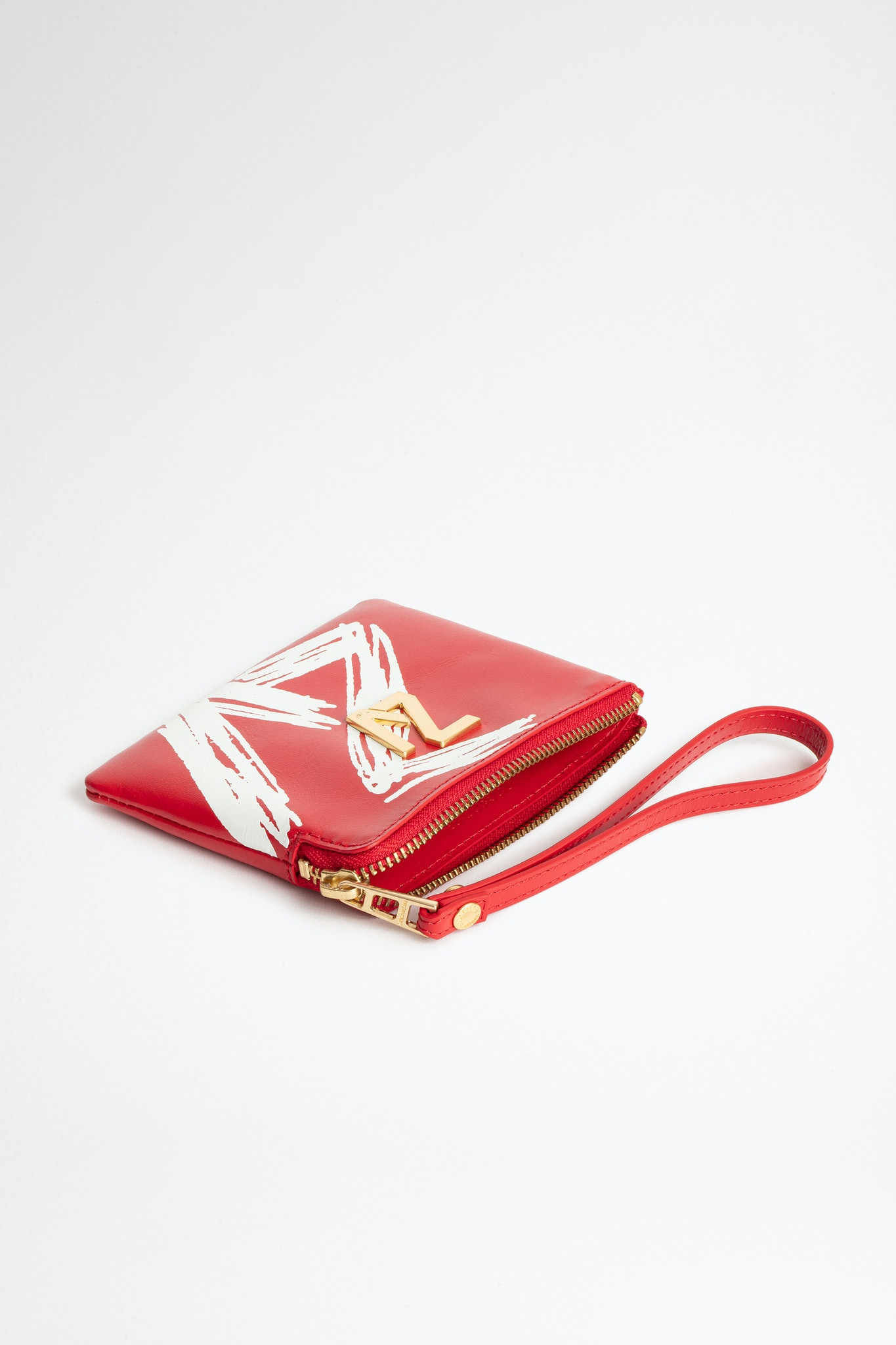 ZV Initiale La Mini Pouch clutch bag Coat of arms