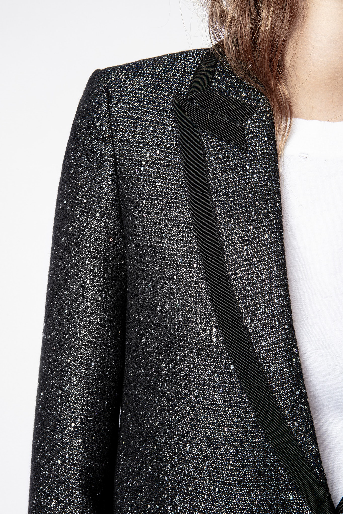 Chaqueta Victor Fantaisie Tweed