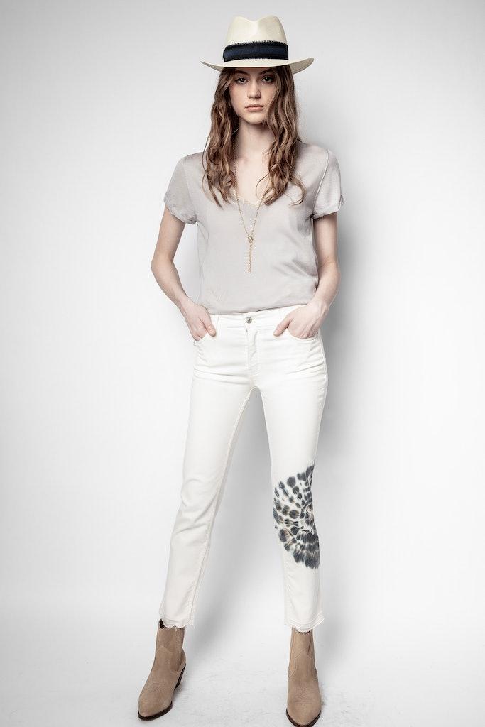 Elton Denim Tie and Dye Jeans
