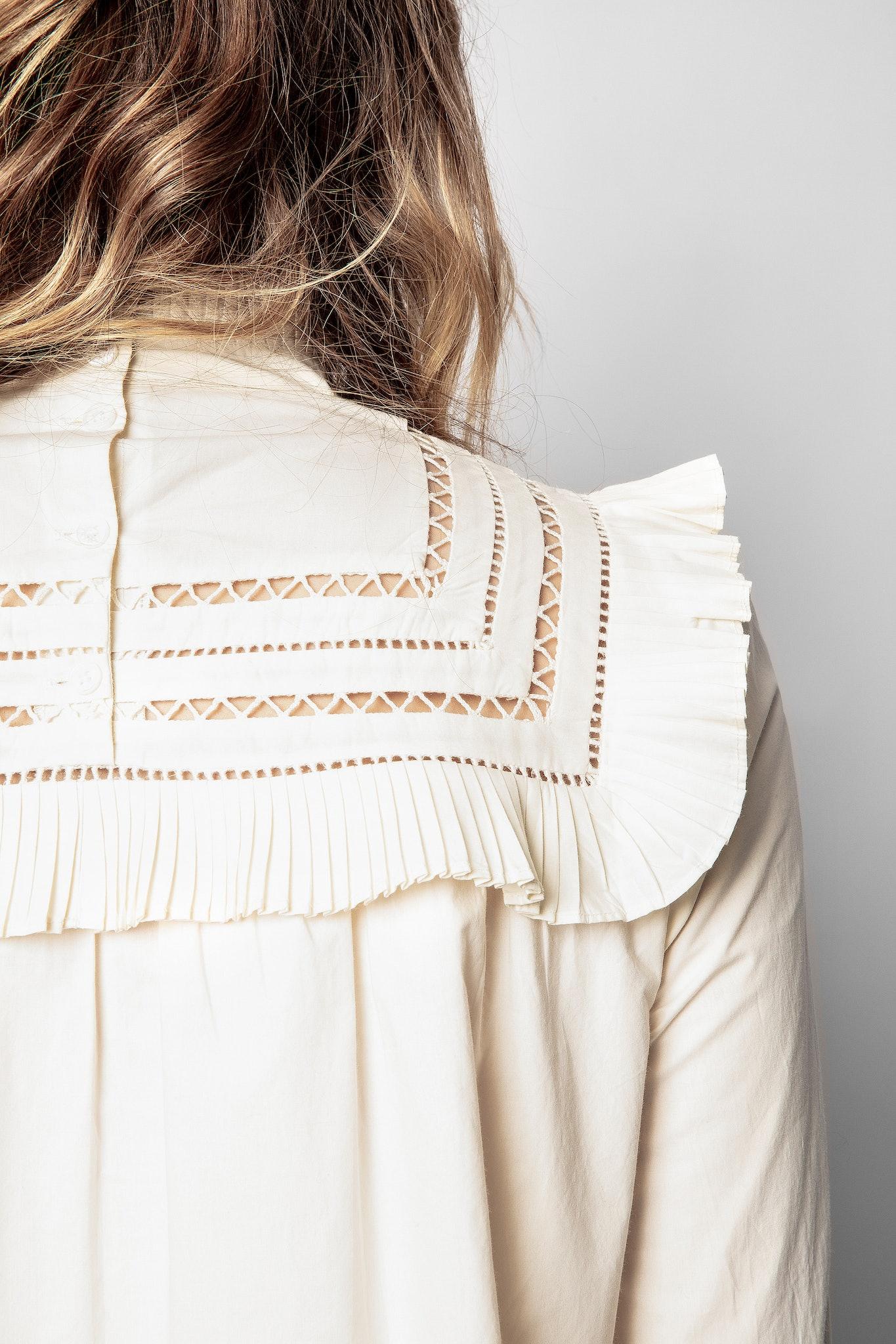 Maxi-maglia Trace Popeline