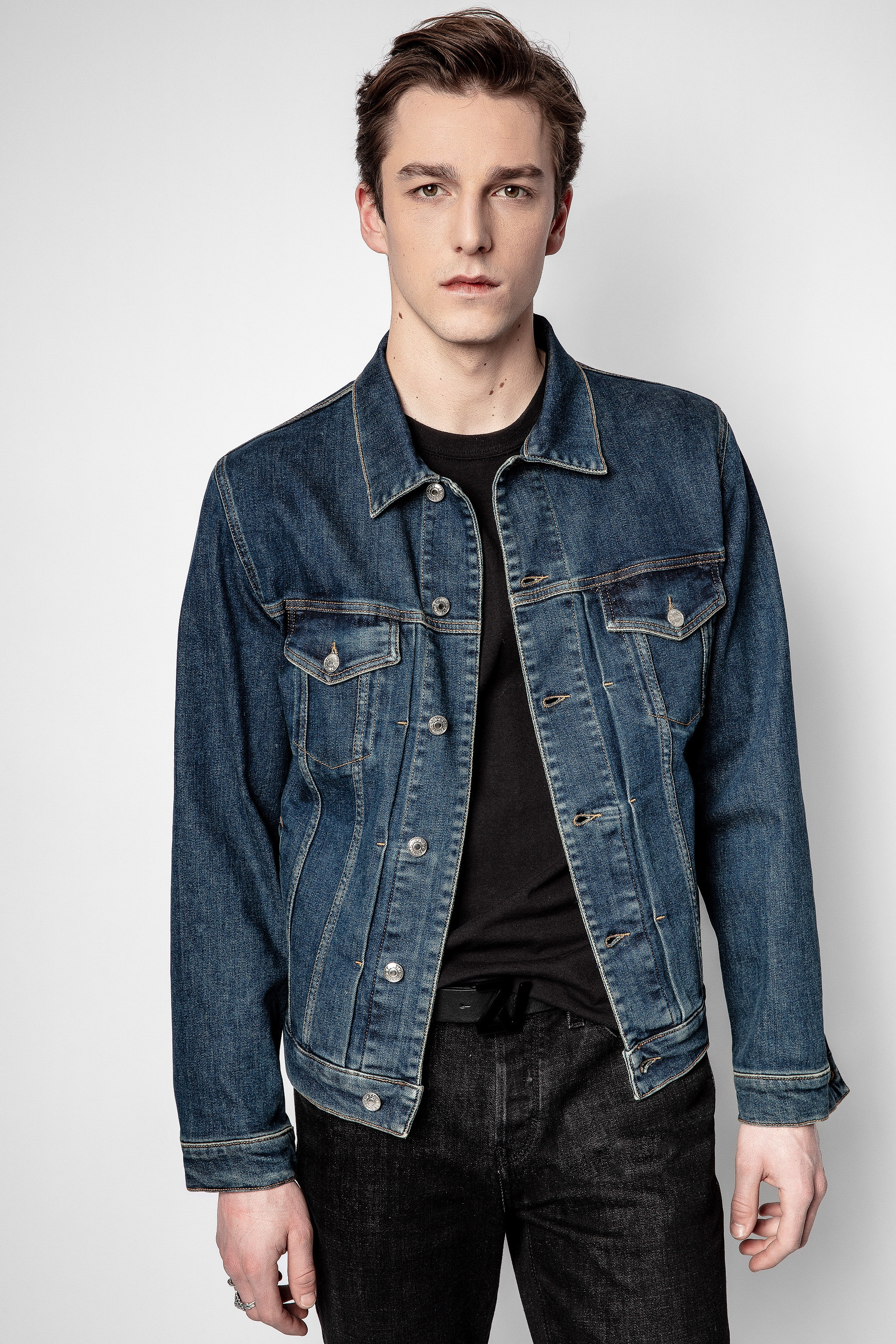 Blouson Base Denim