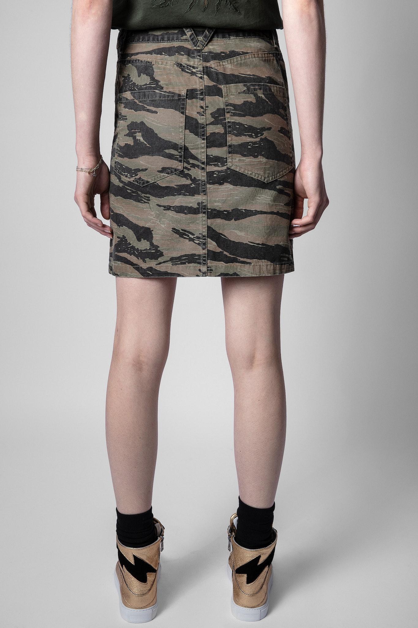 Jeu Camou Skirt