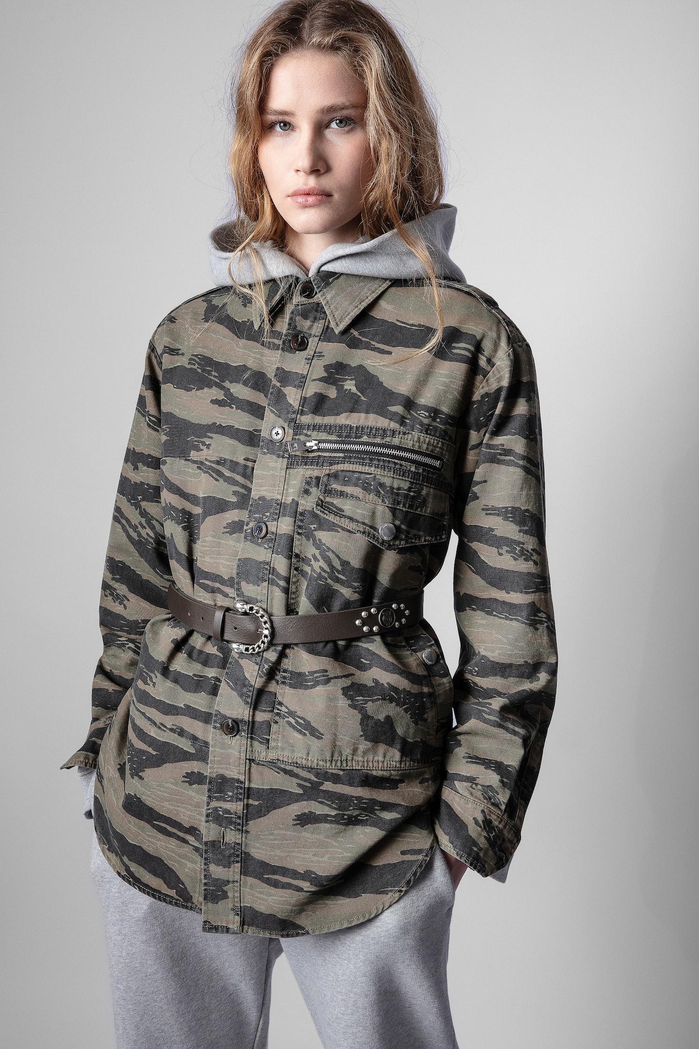Camicia Troy mimetica