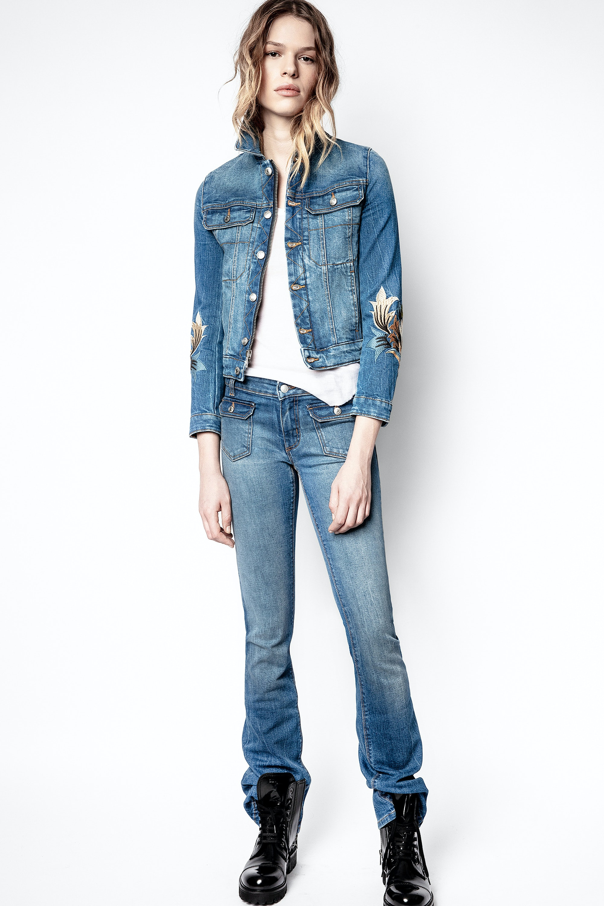 Jean Hippie Denim Eco Light
