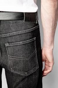 Pug Denim Shorts