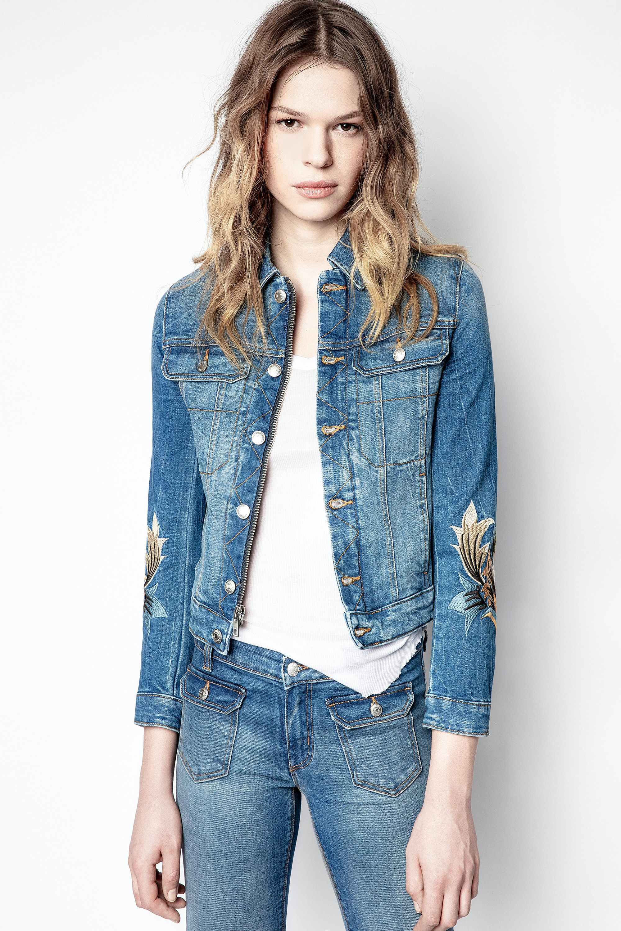Kioky Denim Eco Light Jacket