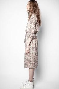 Raya Mousseline Mini Kaleido Dress