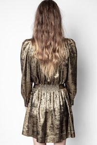 Retouch Gold Dress