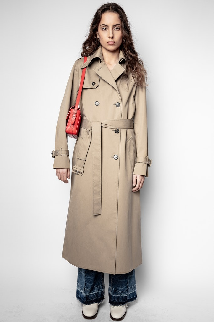 La Parisian trench coat