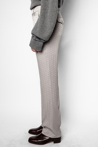 ZV jacquard night pants