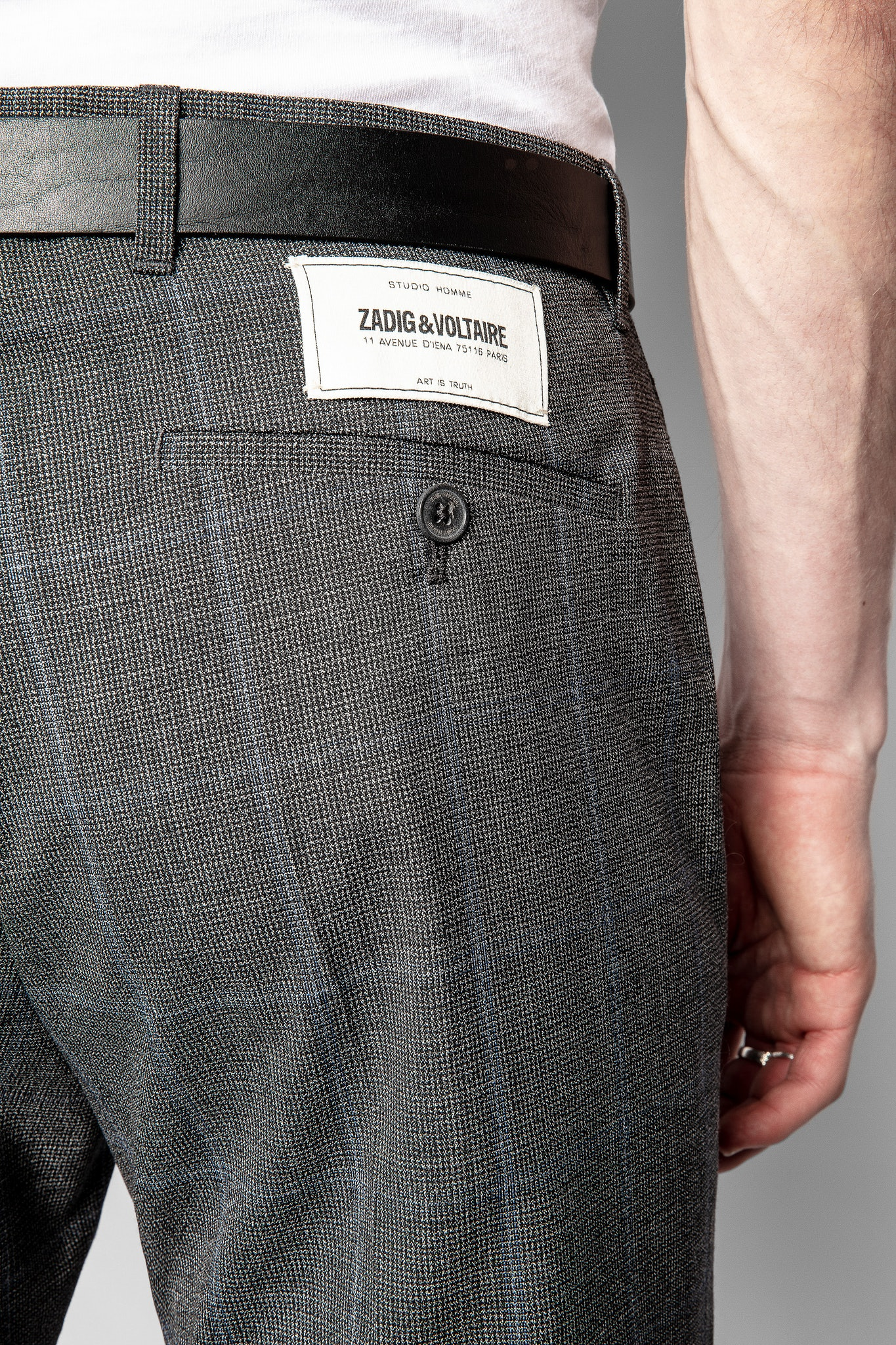 Pantalón Paris Wool Tech