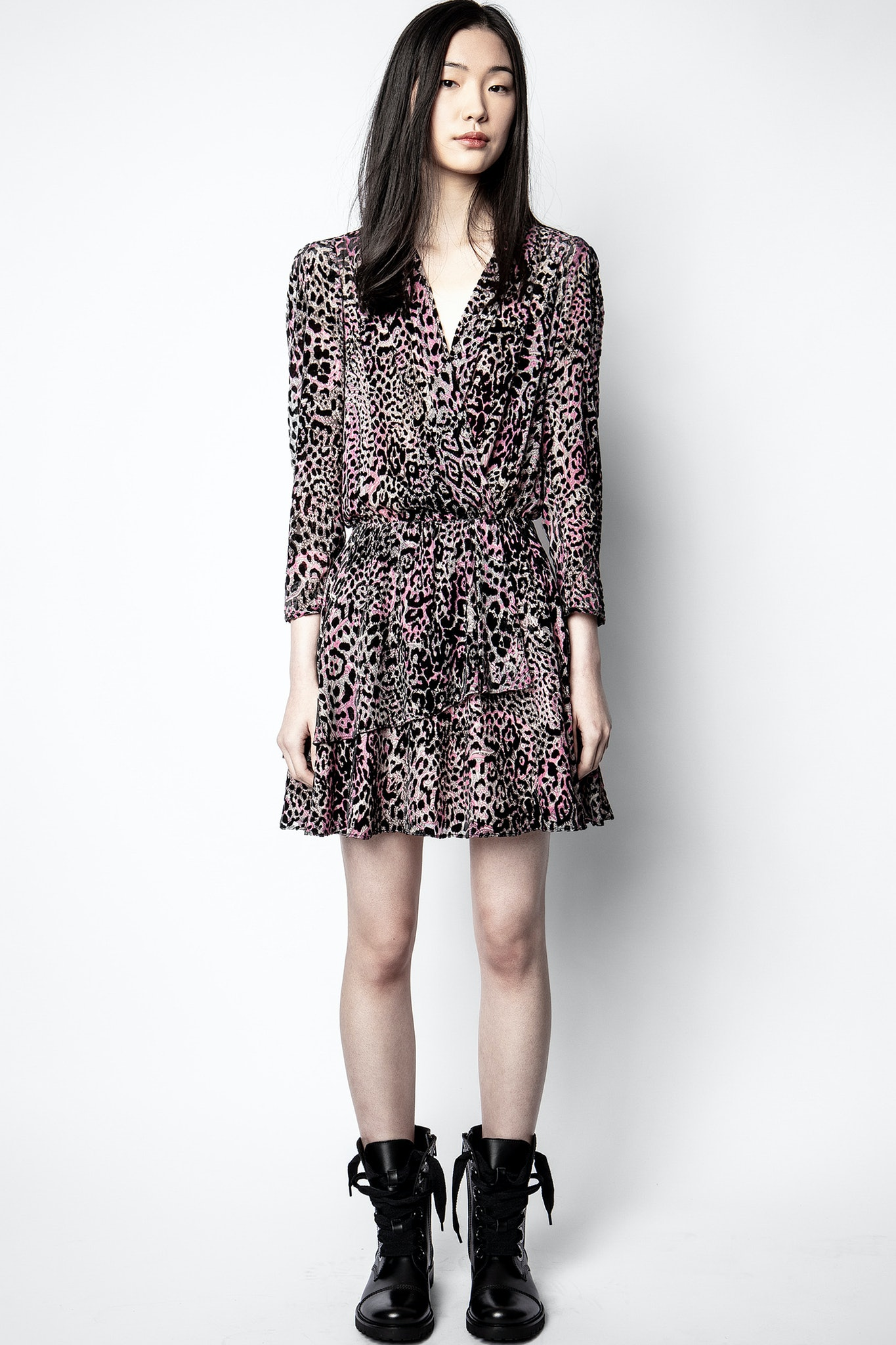 Rogers Velours Devore Dress
