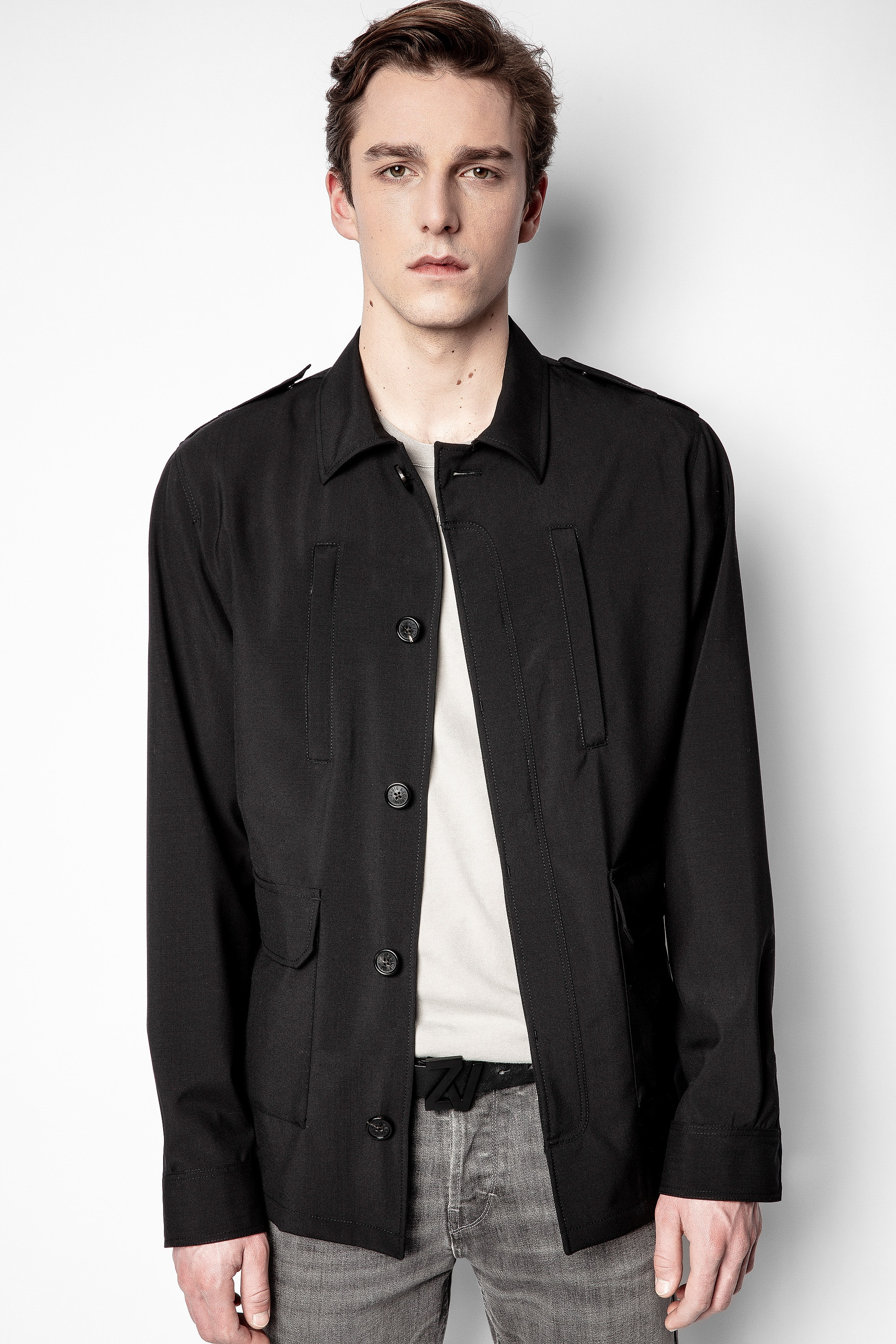 Kindo Wool Tech Jacket