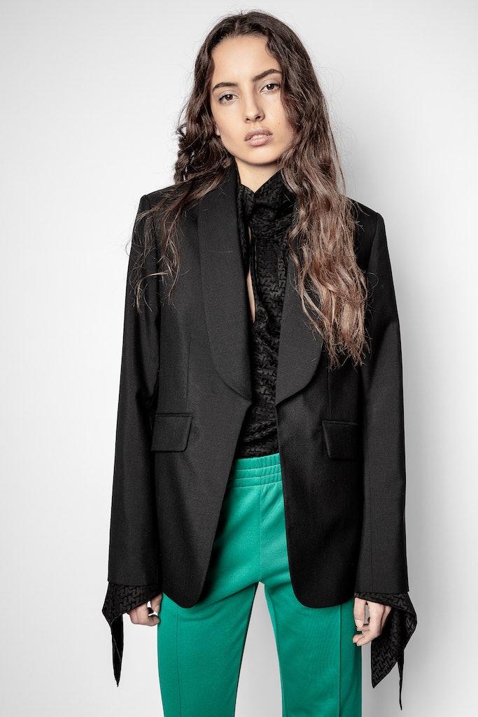 Date Wool Jacket