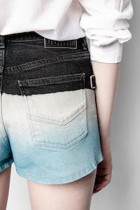 Storm Denim Deep Dye Shorts