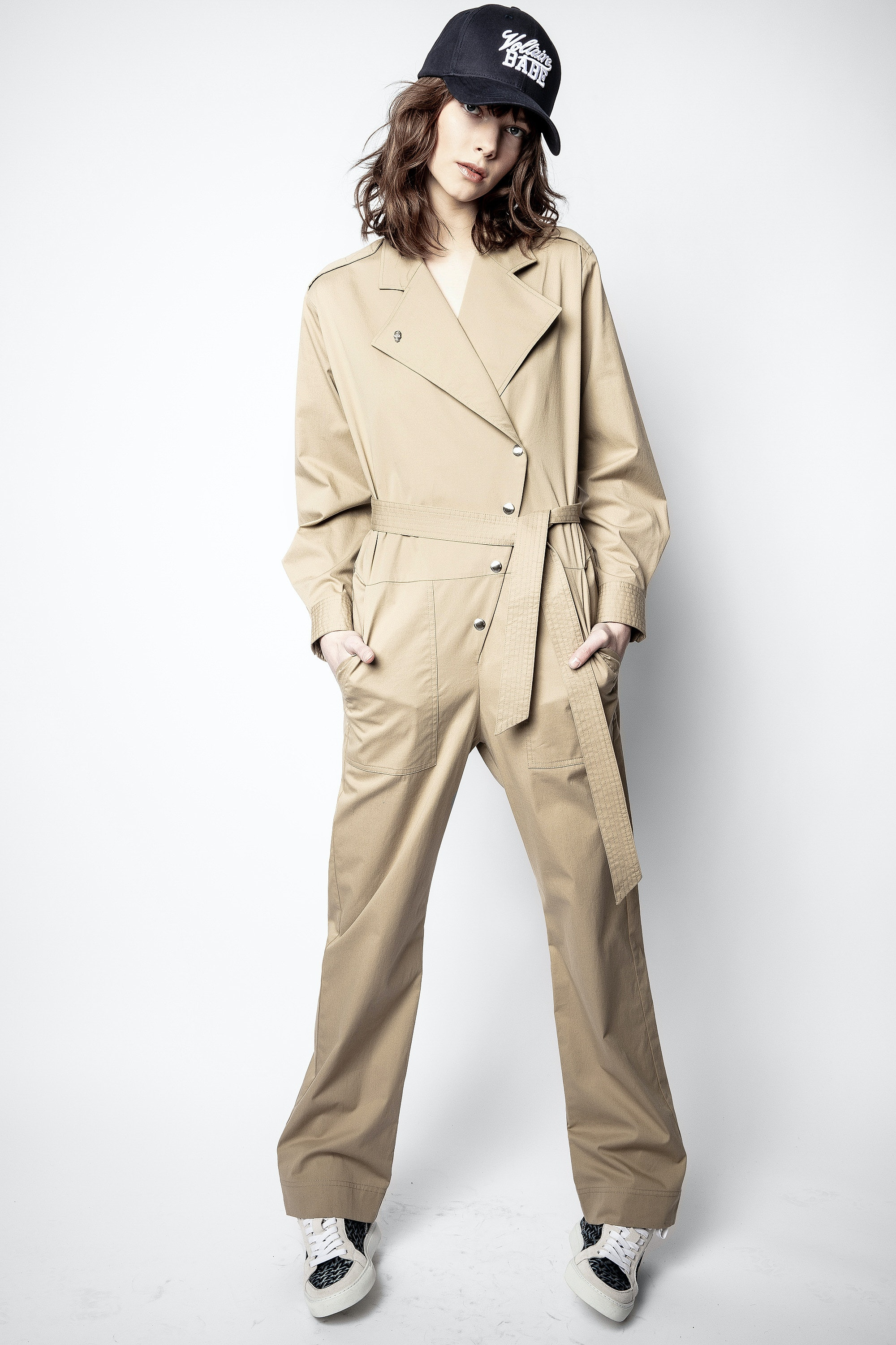 Cosmos Twill Jumpsuit
