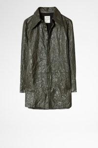 Tris Cuir Froissé Shirt