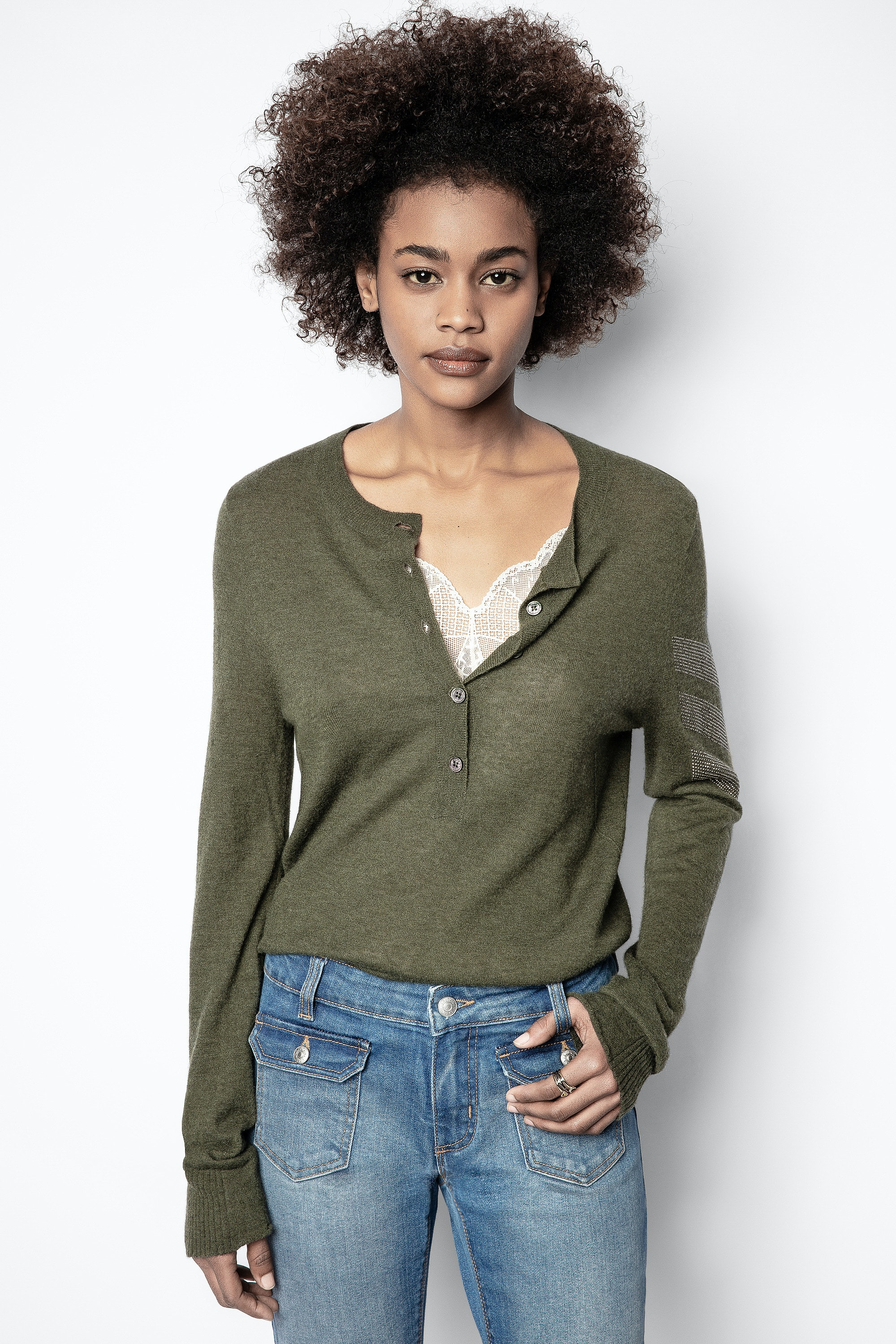 Monday Arrow Cachemire Sweater