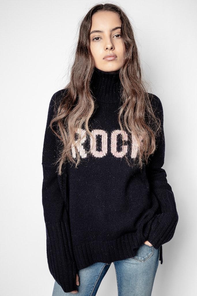 Pullover Alma Rock Merinowolle