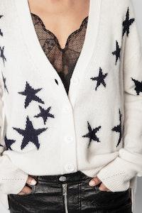 Mirka Stars Cachemire Cardigan