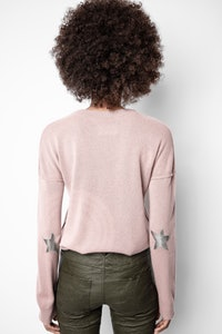 Pull Cici Patch Cachemire