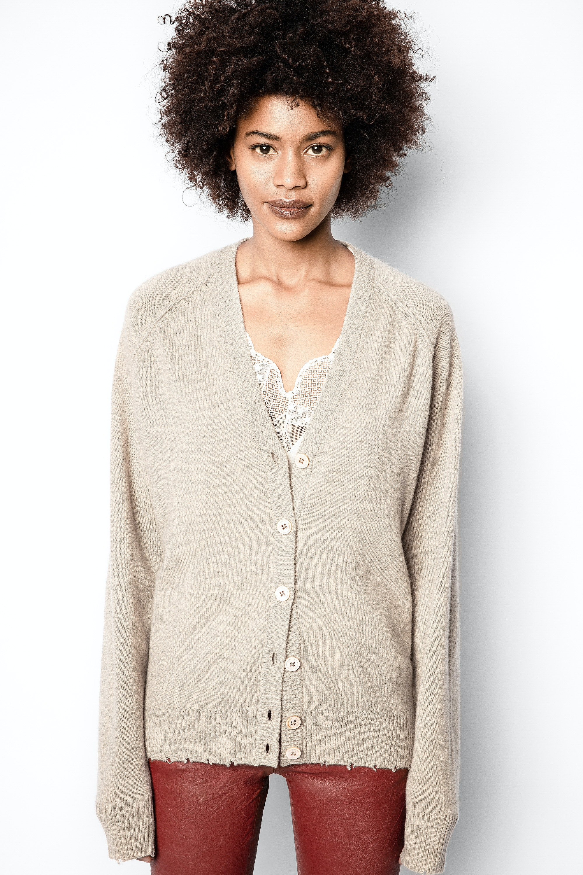 Jim Patch Cachemire Cardigan