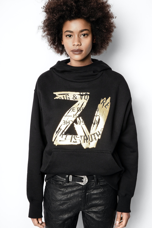 Sweatshirt Wallace ZV Blason Foil