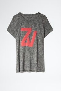 T-Shirt Walk Chiné Overdyed