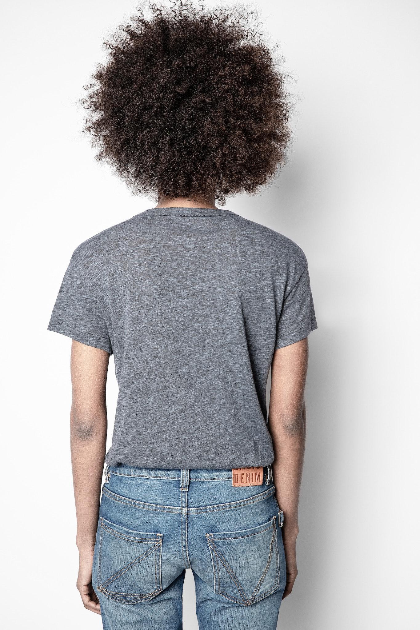 T-Shirt Walk Meliert Overdyed