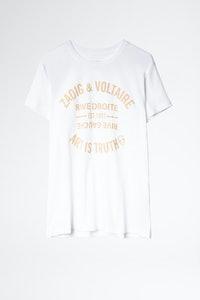 T-Shirt Zoe Blason Glitter