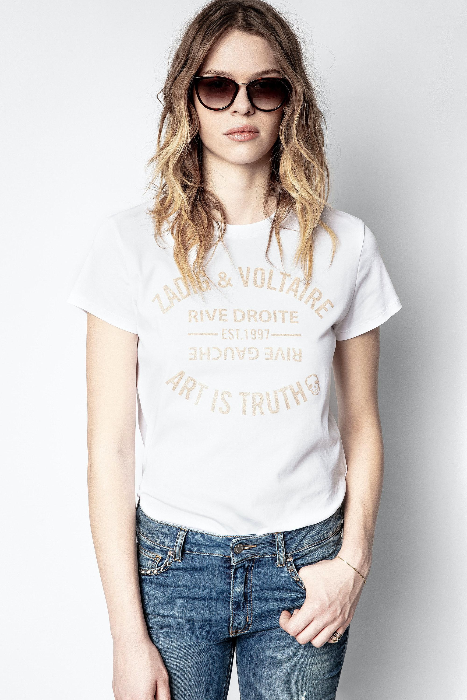 Zoe Blason Glitter T-shirt