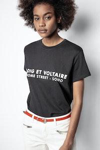Zoe ZV Address T-shirt