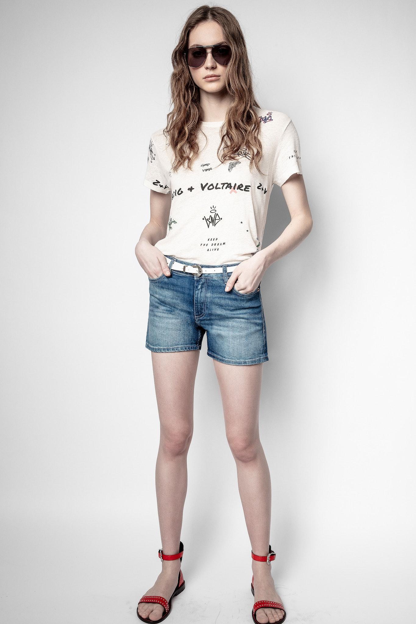 Zoe Tattoo Multitag T-shirt