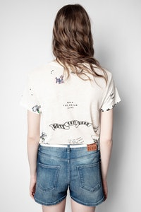 T-Shirt Zoe Tattoo Multitag