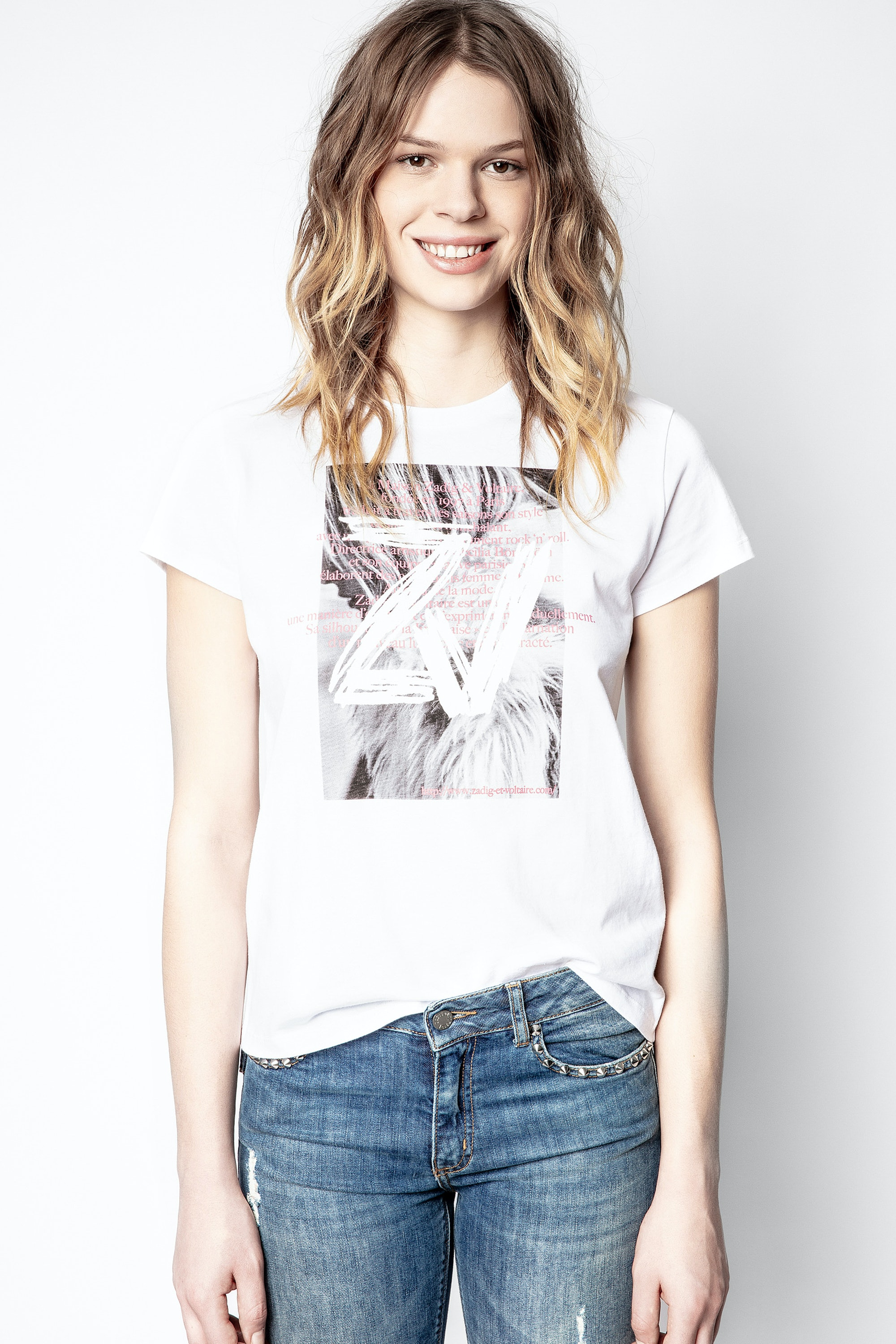 T-Shirt Zoe Photoprint