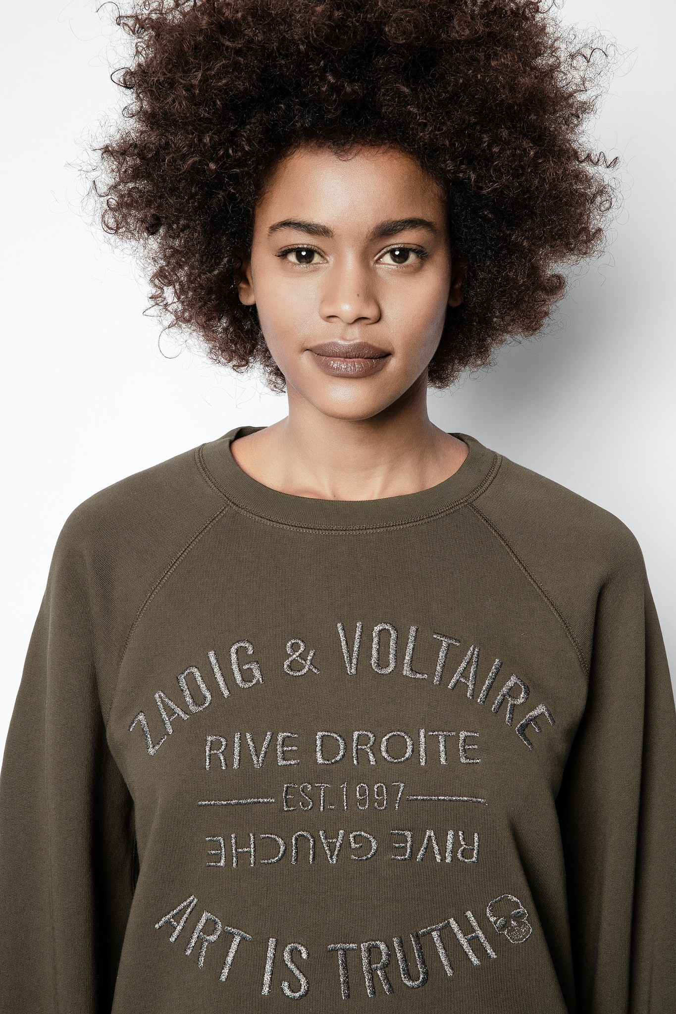 Upper Blason Brodé Sweatshirt
