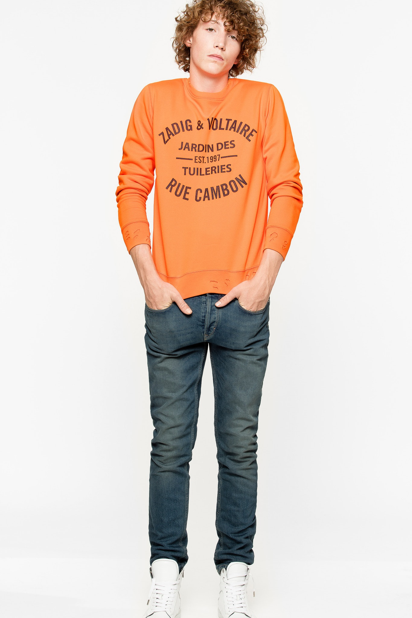 Scott Patch sweatshirt