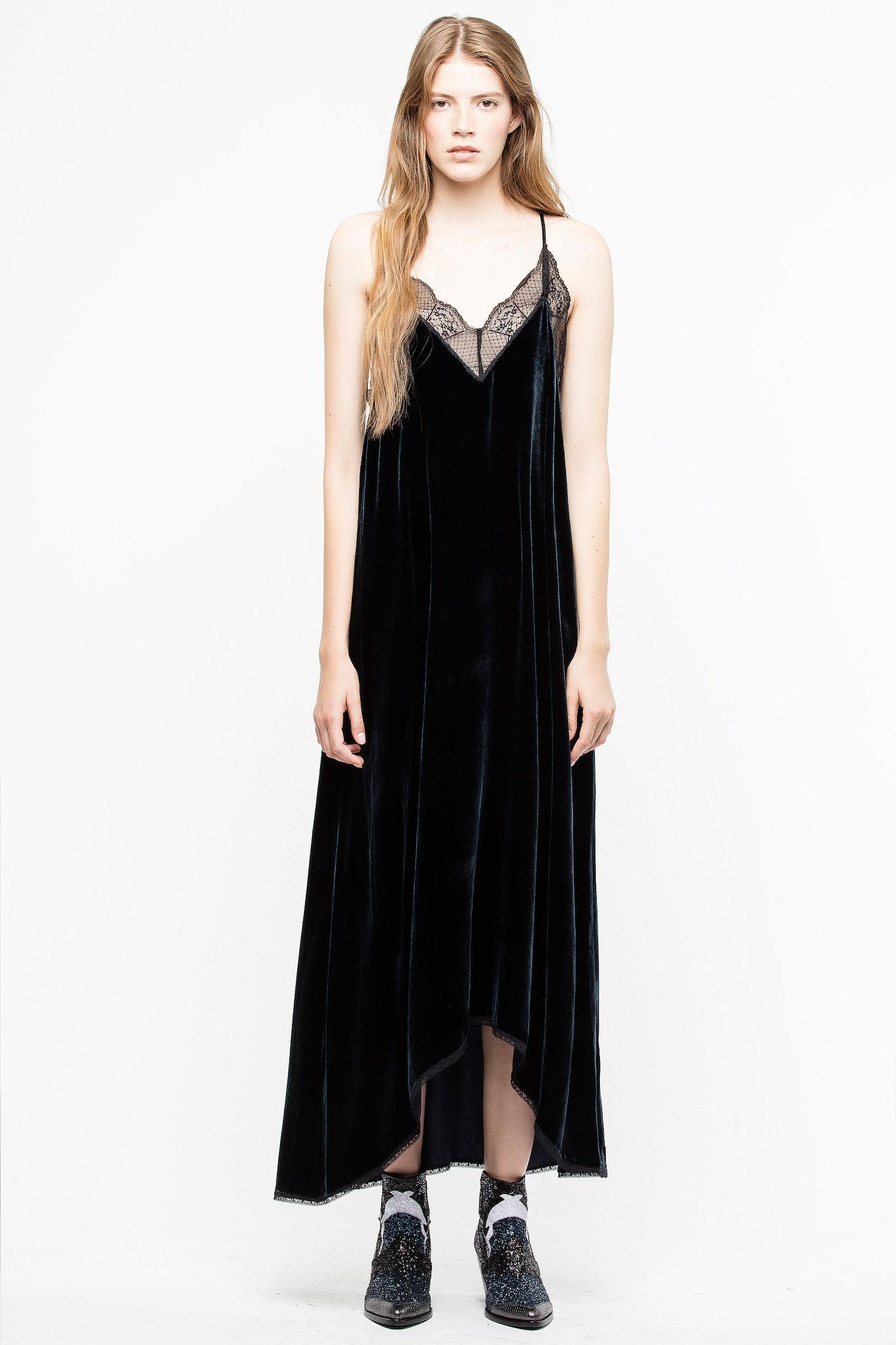 Risty Velours Dress