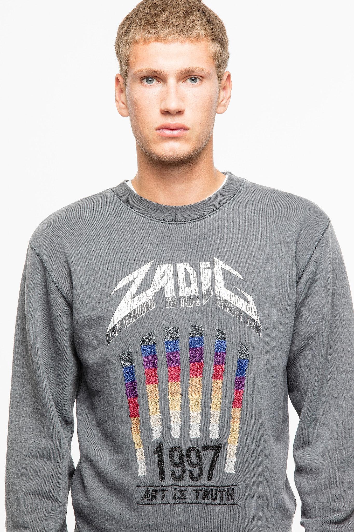 Sweatshirt Steeve Overdyed
