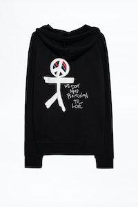 Zadig&Voltaire X Jagger Snow Sweatshirt