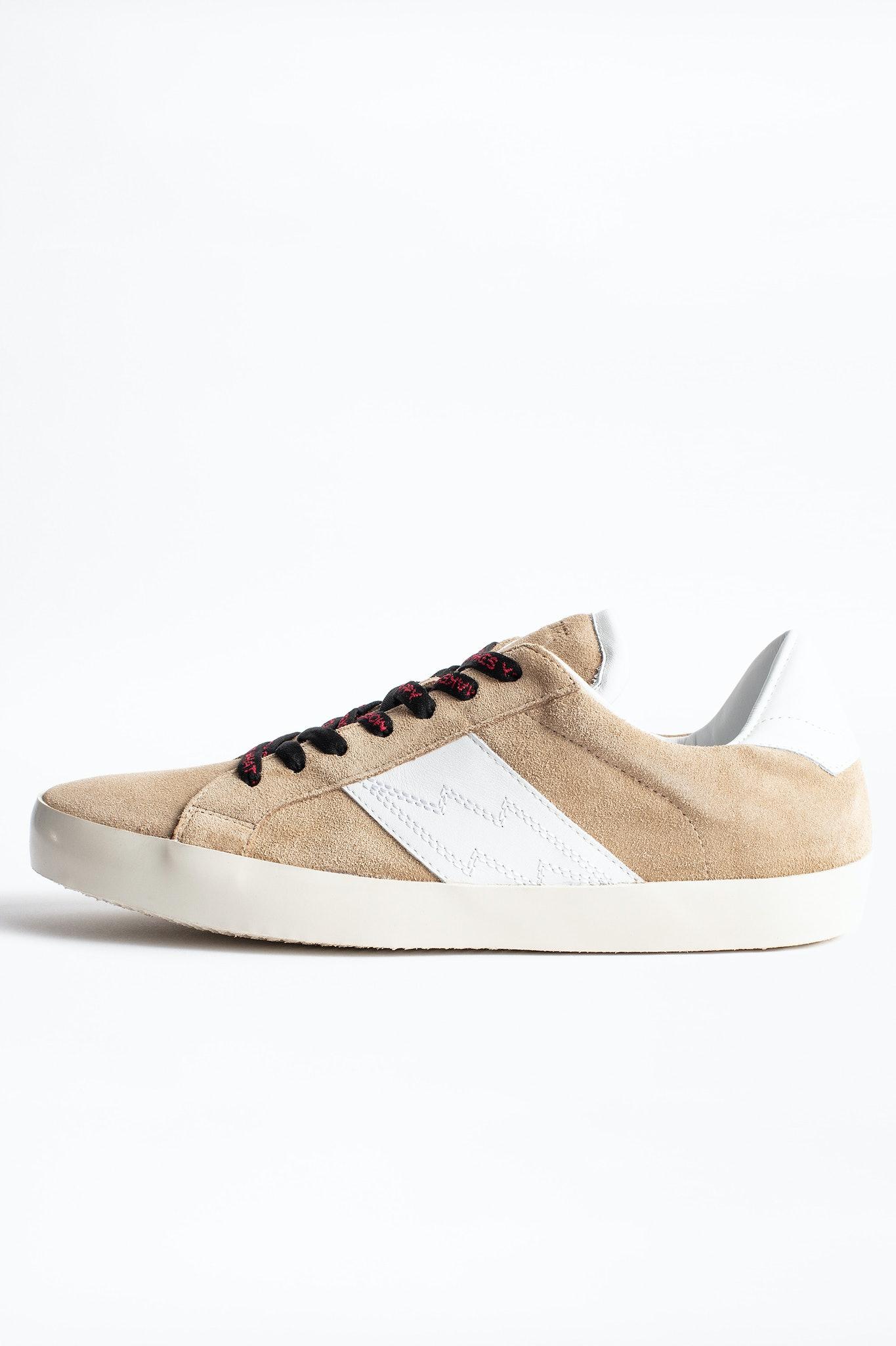 Zadig Patch Suede Men Sneakers