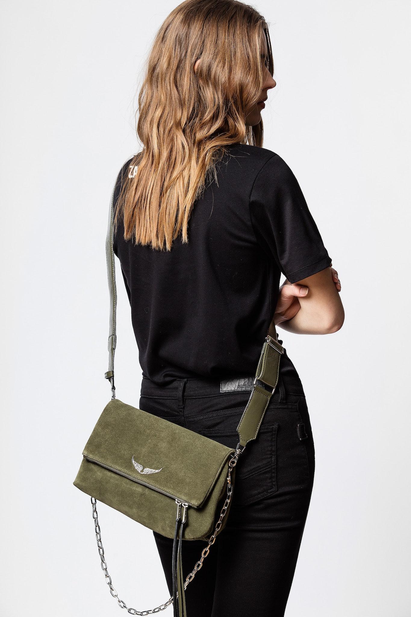 Rocky Suede Patent Bag Bag Women Zadig Voltaire