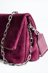 Sac Rocky Suede Patent