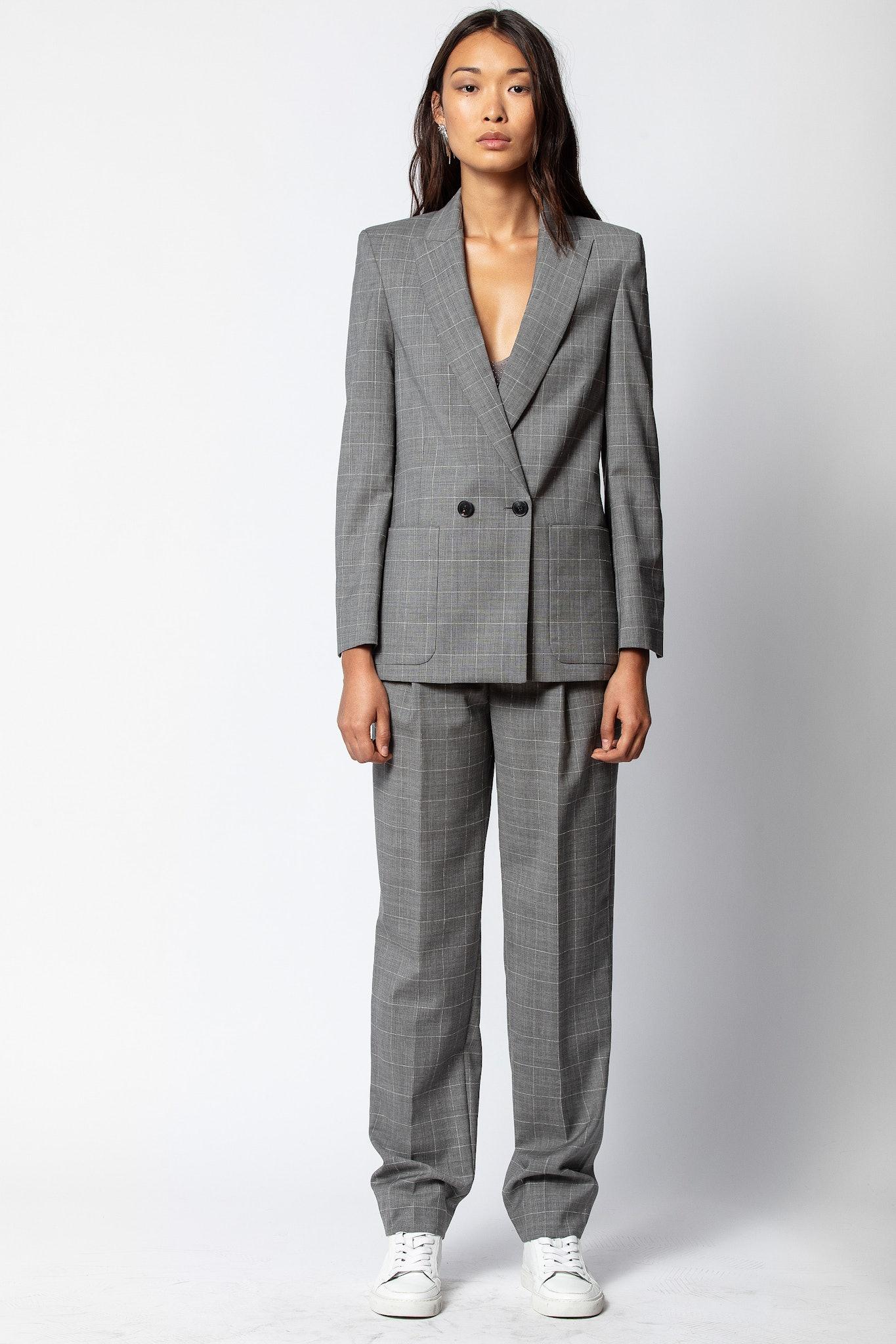 Visko Carreaux Jacket