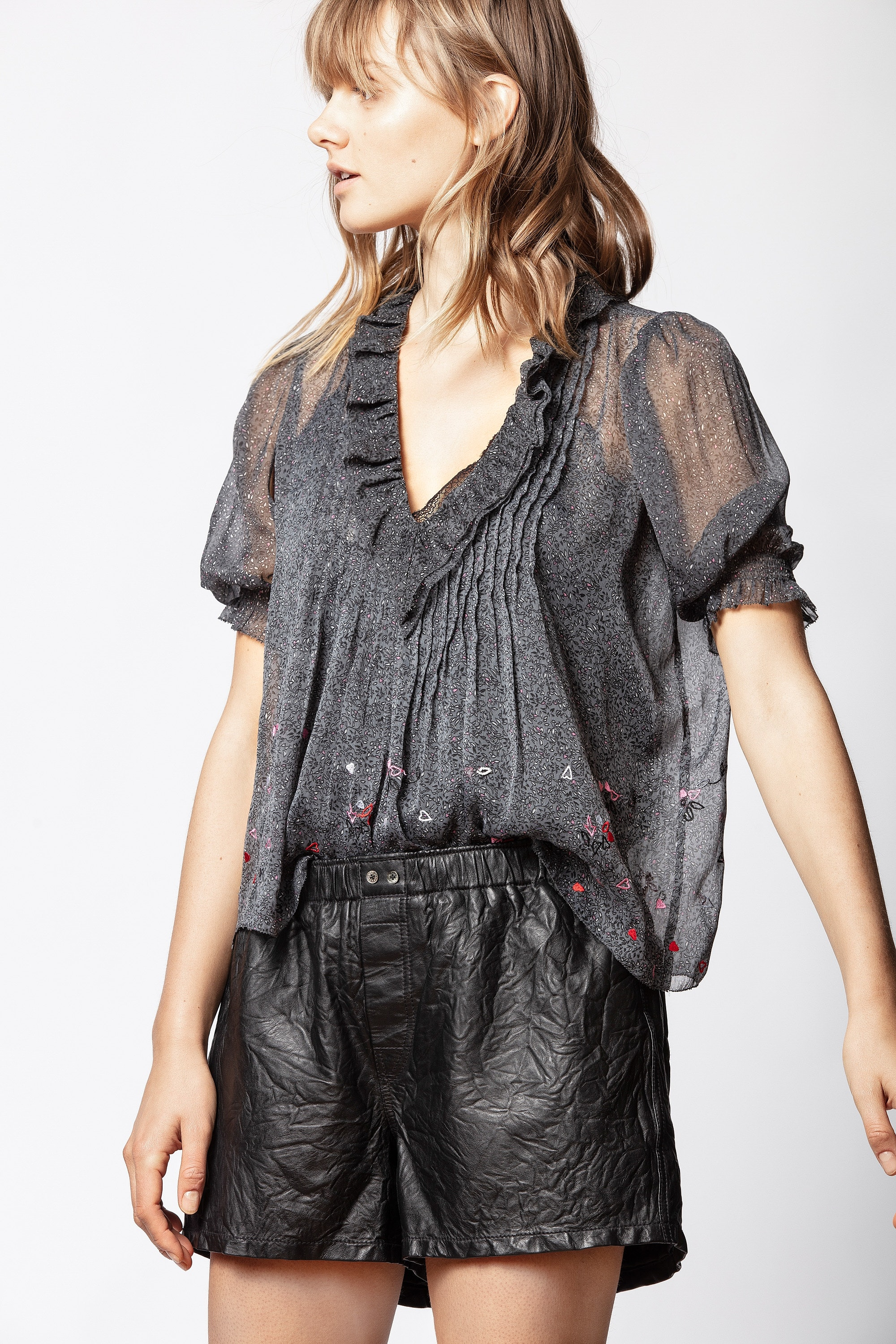 Blouse Tiny Cannetille