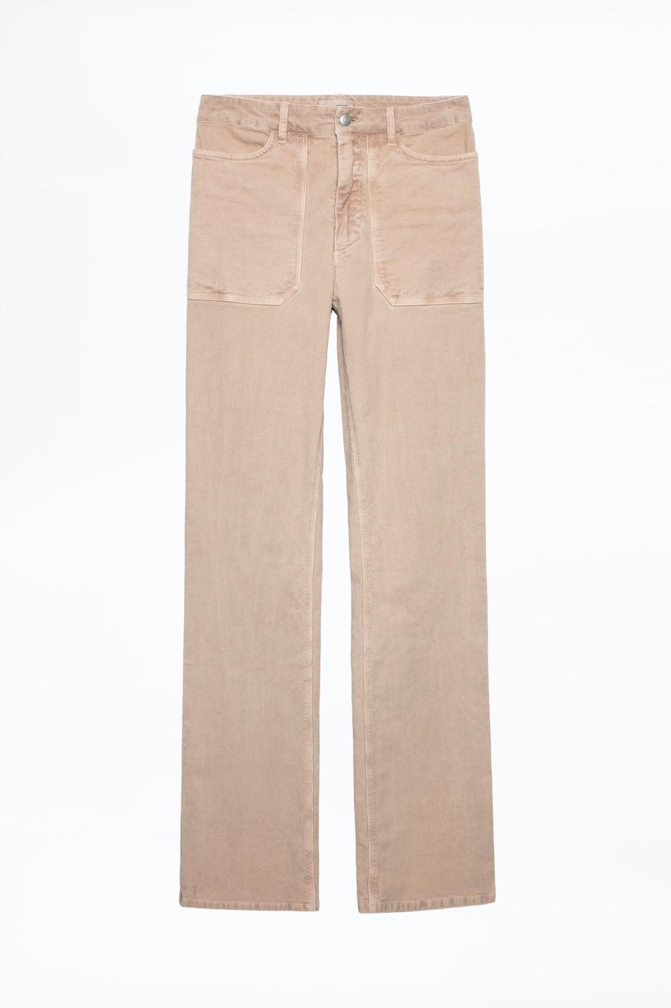 Pantalón Pista Velours