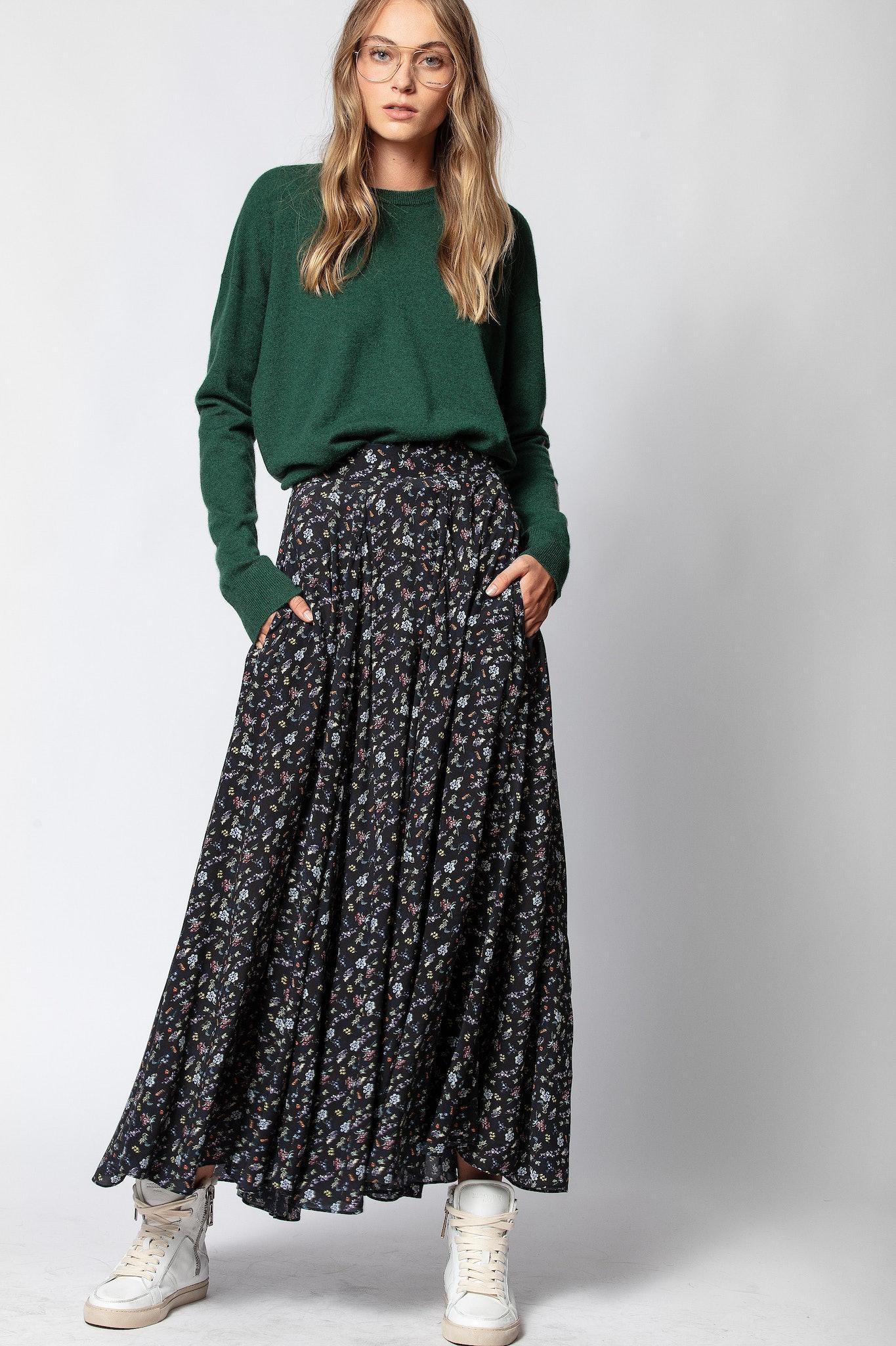 Joyo Mini Print Season Skirt