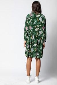 Resist Print Season Dress