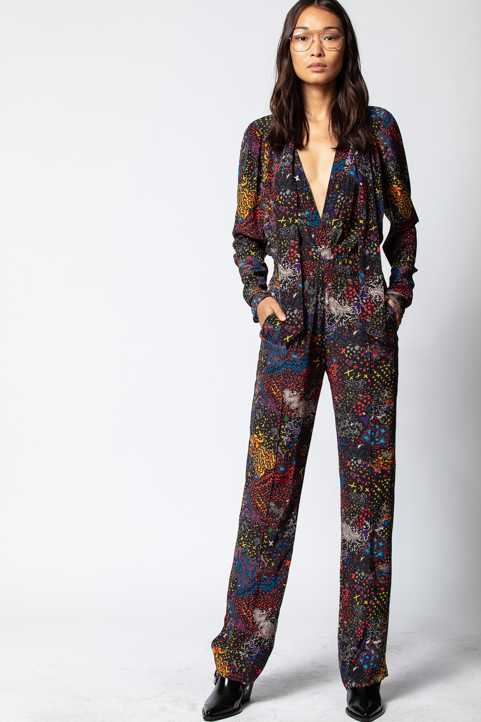 Jumpsuit Captain Print